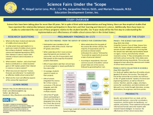 Image of poster presented at the 2016 AISL PI Meeting